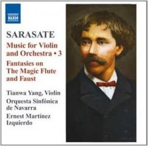 Sarasate - Music for violin and orchestra 3