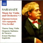 Sarasate - Music for Violin and Orchestra 1