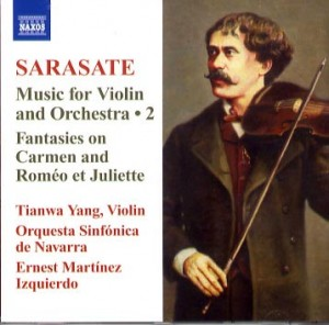 Sarasate - music for violin and orchestra 2
